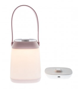 Lampa BAG PINK LED Róż